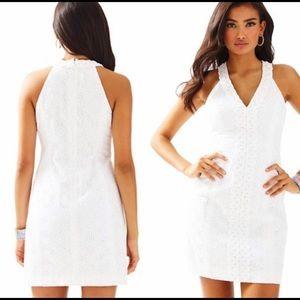 Lily Pulitzer Lynn Shift Dress Resort White